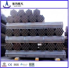 black iron building material hdg carbon steel pipe galvanized steel pipe