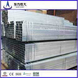 Gi galvanized square steel pipe steel tube
