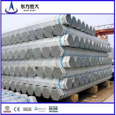 China manufacture Best price threaded galvanized steel pipes