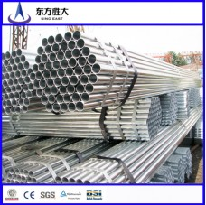 Construction  galvanized steel pipe Cost price