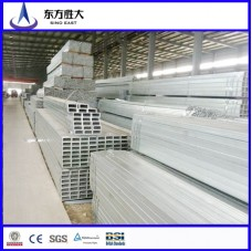 Galvanized steel square pipe tubing best prices