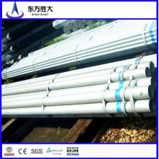 Construction material ASTM A53 schedule 40 galvanized steel pipe