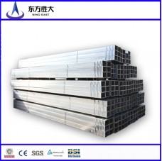 Manufacturer pre galvanized tubing low price in China