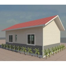 prefabricated steel structure/ house villa
